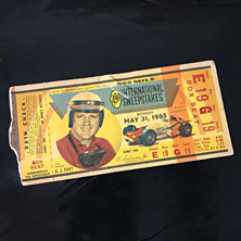 1965 Indy 500 Ticket