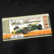1966 Indy 500 Ticket