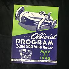 1948 Indy Program