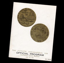 1966 Indy Program