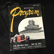 1953 Indy Program