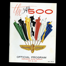 1970 Indy Program