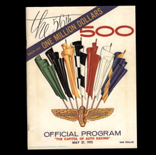 1972 Indy Program