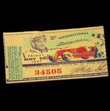 1947 Indy 500 Ticket