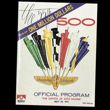 1971 Indy Program