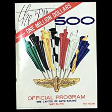 1975 Indy Program