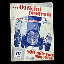 1941 Indy Program