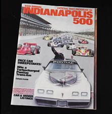 1980 Indy Program