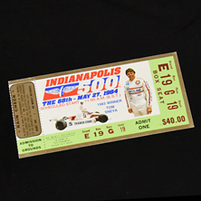 1984 Indy 500 Ticket