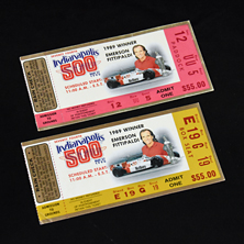 1990 Indy 500 Ticket