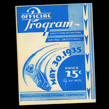 1935 Indy Program