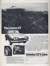 Scimitar GT